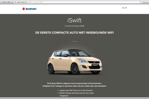 iSwift - web digital content marketint campaign